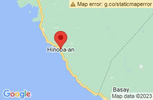 Map of Hinoba-an, Hinoba-an Negros Occidental
