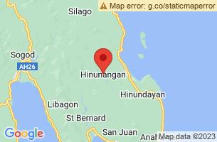 Map of Calag-itan Fish Sanctuary, Hinunangan Southern Leyte