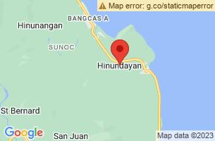 Map of Ambao Fish Sanctuary, Hinundayan Southern Leyte
