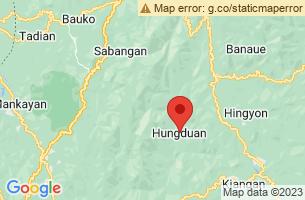 Map of Hungduan, Hungduan Ifugao