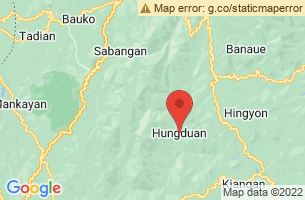 Map of Mount Napulawan, Hungduan Ifugao