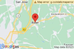 Map of Ibaan, Ibaan Batangas