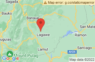 Map of Ifugao,