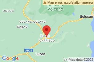 Map of Irosin, Irosin Sorsogon