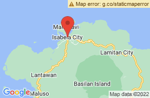 Map of Tabiawan Busay Falls, Isabela City Basilan