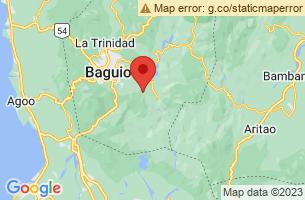 Map of Itogon, Itogon Benguet