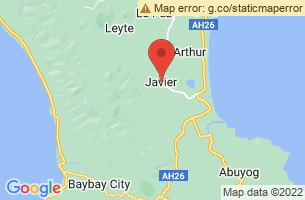 Map of Javier, Javier Leyte