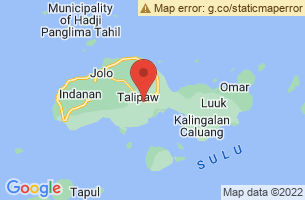 Map of Tausug, Jolo Sulu