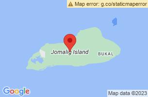 Map of Jomalig Island, Jomalig Quezon
