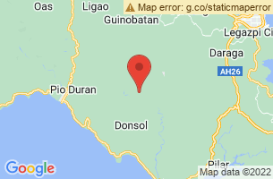 Map of Jovellar, Jovellar Albay