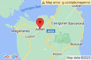 Map of Juban, Juban Sorsogon