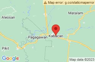 Map of Pisan Cave, Kabacan Cotabato