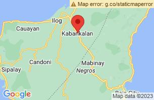 Map of Kabankalan City, Kabankalan City Negros Occidental