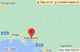 Map of Kabasalan, Kabasalan Zamboanga Sibugay