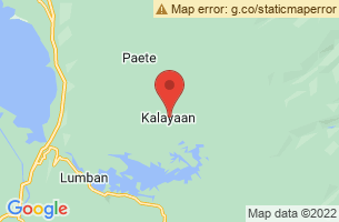 Map of Pag-asa Island, Kalayaan Palawan
