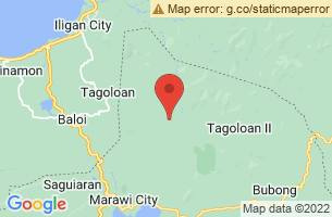 Map of Kapai, Kapai Lanao del Sur