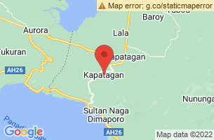 Map of Sta Cruz Falls, Kapatagan Lanao del Norte