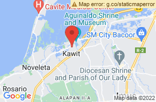 Map of Aguinaldo Shrine and Museum, Kawit Cavite