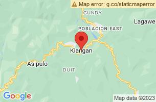 Map of Kiangan, Kiangan Ifugao