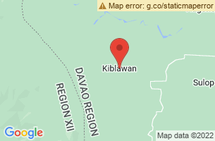 Map of Kiblawan, Kiblawan Davao del Sur