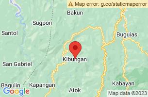 Map of Kibungan, Kibungan Benguet