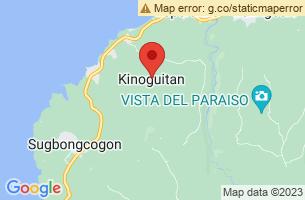 Map of Kinoguitan, Kinoguitan Misamis Oriental