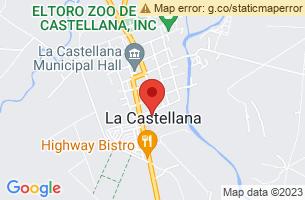 Map of La Castellana, La Castellana Negros Occidental
