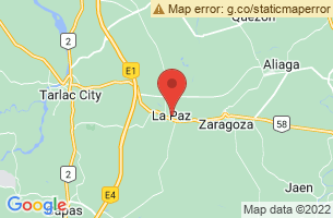 Map of La Paz, La Paz Leyte