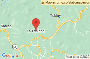 Map of StoBoSa, La Trinidad Benguet