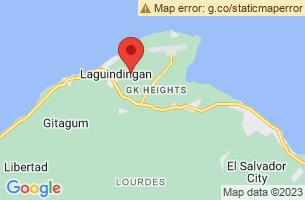 Map of Tubajon Aqua Marine Park, Laguindingan Misamis Oriental