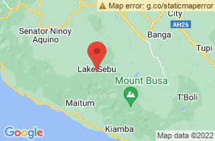 Map of Blaan People, Lake Sebu South Cotabato
