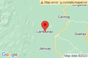 Map of Binanog Festival, Lambunao Iloilo
