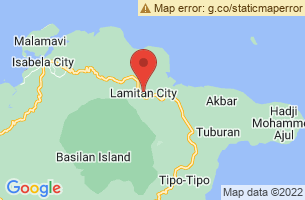 Map of Calugusan Beach, Lamitan City Basilan
