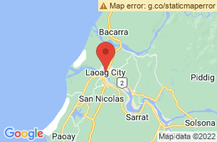 Map of Laoag City, Laoag City Ilocos Norte