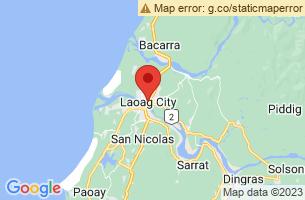Map of Laoag River, Laoag City Ilocos Norte