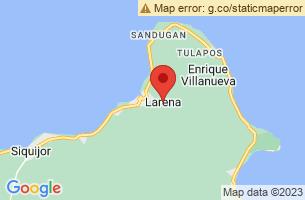 Map of Larena, Larena Siquijor