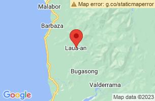 Map of Laua-an, Laua-an Antique