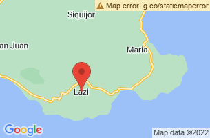 Map of Lazi, Lazi Siquijor