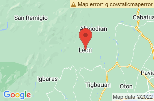 Map of Bucari Pine Forest, Leon Iloilo