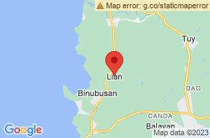 Map of Lian, Lian Batangas