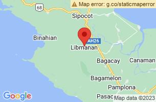 Map of Kulapnitan Cave, Libmanan Camarines Sur