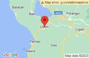 Map of Libon, Libon Albay
