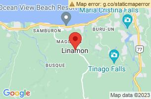 Map of Linamon, Linamon Lanao del Norte