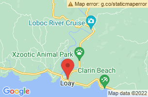 Map of Himontagon Hills, Loay Bohol