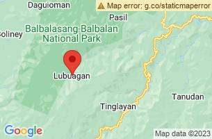 Map of Lubuagan, Lubuagan Kalinga