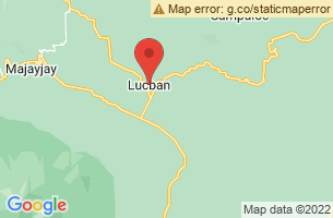 Map of Lucban, Lucban Quezon