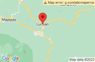Map of Kamay Ni Hesus, Lucban Quezon
