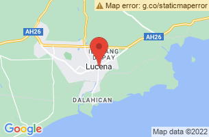Map of Lucena City, Lucena City Quezon