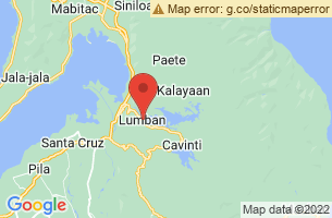 Map of Lumban, Lumban Laguna