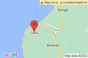 Map of Luna Ruins, Luna La Union